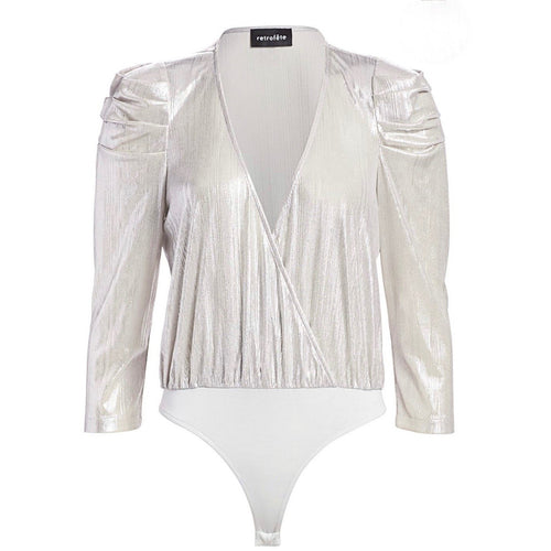 Jophiel Body Suit Silver