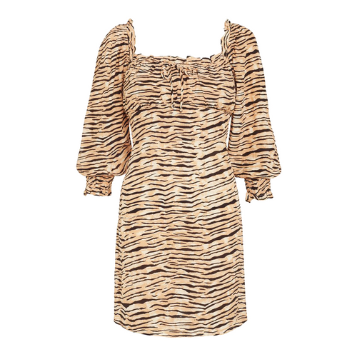Ira Mini Dress Wyldie Animal Print
