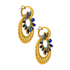 Isolde Earrings - Sapphire