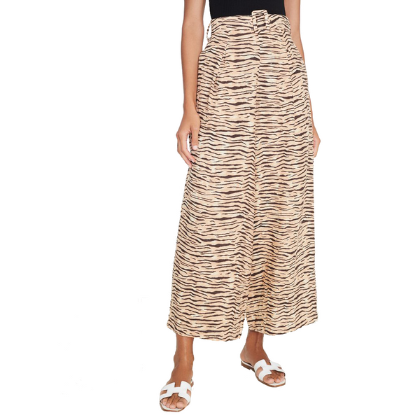 Lena Wide Leg Pant Wyldie Animal Print