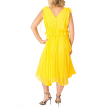 Lilah Dress Yellow