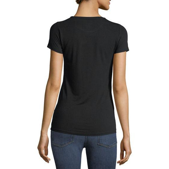 Soft Touch Short Sleeve Crew T-Shirt Noir