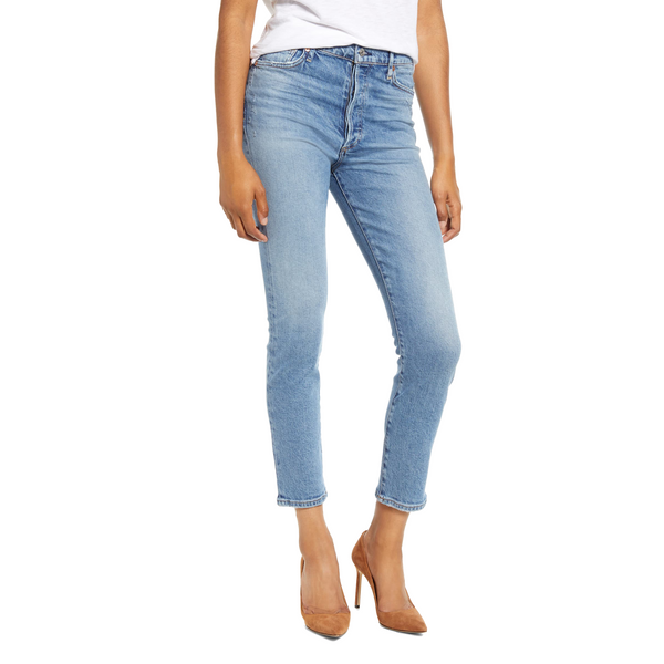 Olivia High Rise Slim Ankle Chit Chat