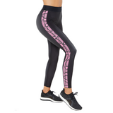 Ultra High Linear Python Legging Nero Neon Pink