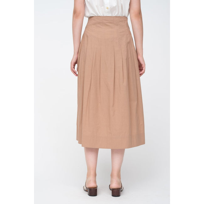 Calah Cotton High Waisted Corset Skirt
