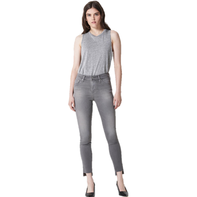 Farrah Skinny Ankle Jean 10 Years Grey Shadow