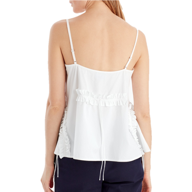 Cotton Cami with Ruffle Detail