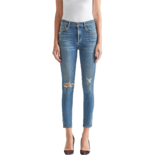 Rocket Crop High Rise Skinny Jean Deja Vu