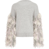 Berber Fringe Sweater