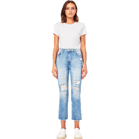 Jerry High Rise Vintage Crop