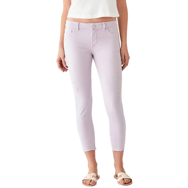 Florence Crop: Mid Rise Instasculpt Skinny
