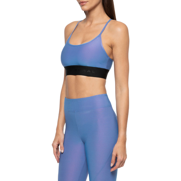 Sweeper Iridescent Sports Bra