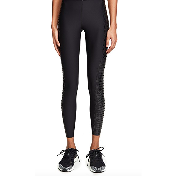 Ultra High Crocodile Legging Nero Patent