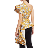 Liberty Top Mustard Wild Rose