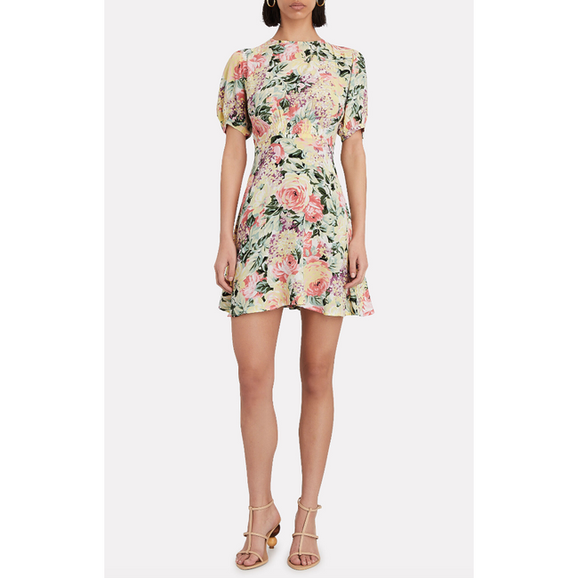 Sidonie Mini Dress Venissa Floral Print