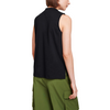 Sleeveless Mockneck Black
