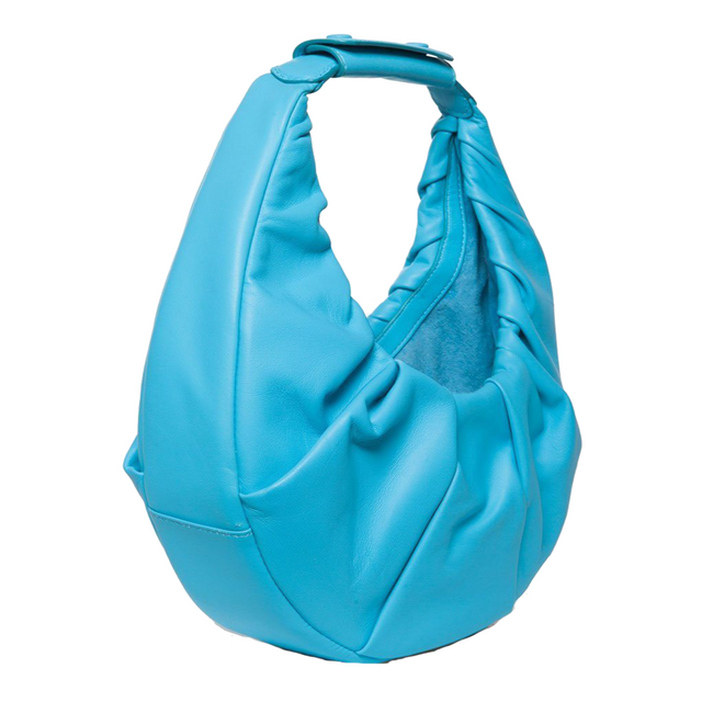 Soft Moon Bag - Bright Blue