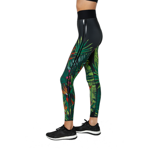 The Wilds Ultra High Legging Tropic Nero