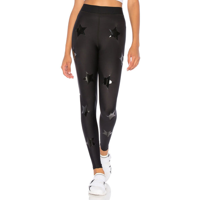 Ultra High KO Legging Patent Nero