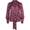 Upland Blouse Purple