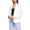 Denim Blazer White