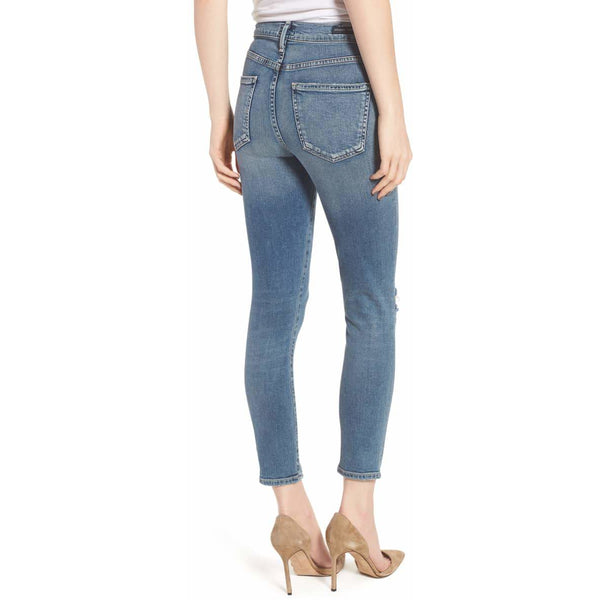Rocket Crop High Rise Skinny Reminisce
