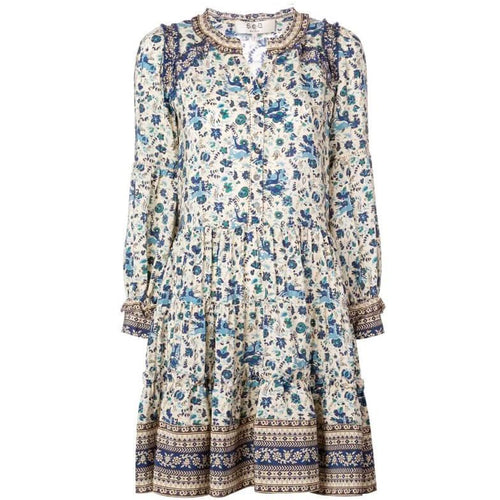 Doe Print Tunic Dress
