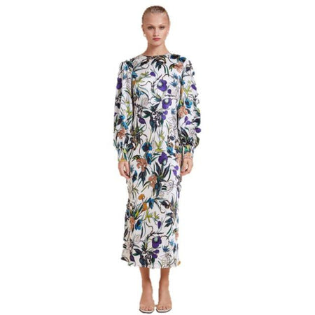 Avian Dress White Anemone Floral