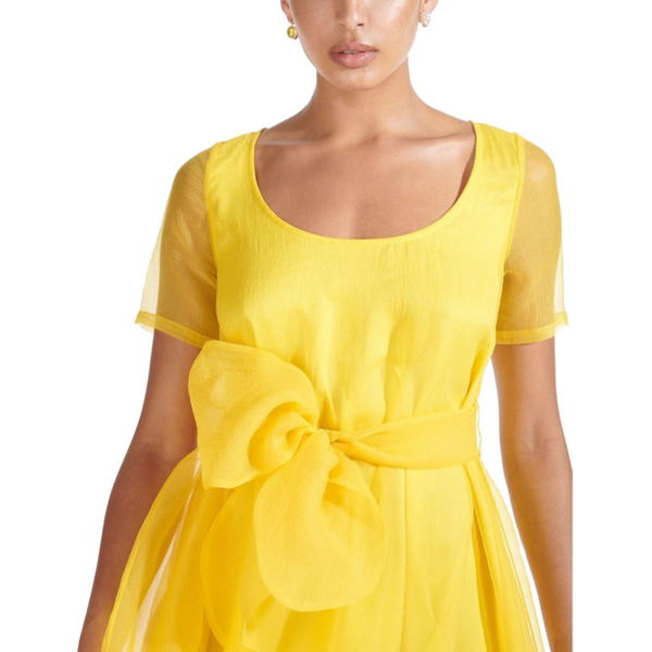 Hala Dress Yellow