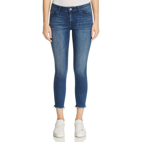 Florence Crop Mid Rise Instasculpt Skinny Stranded