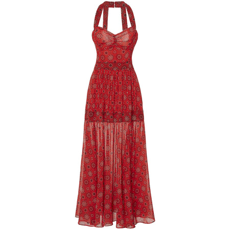 Talla Red Dress