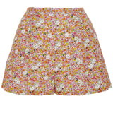 Pleated Short Floral