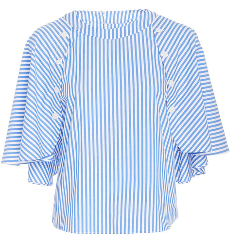 Cape Top Cobalt Stripe