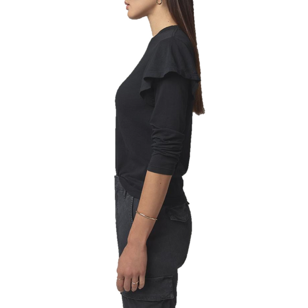 Lulu Double Flutter Sleeve T-Shirt