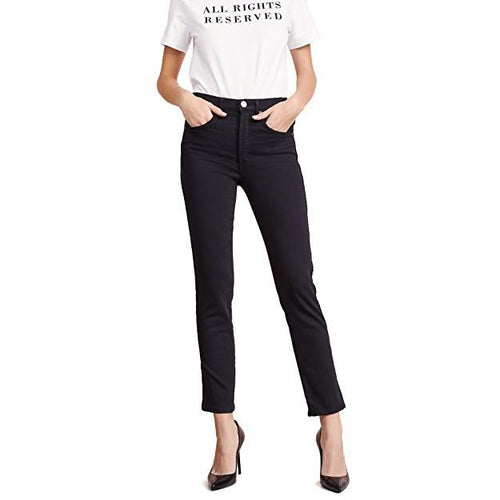 Valletta Straight Black Tie Jeans