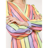 Meg Dress Resort Stripe
