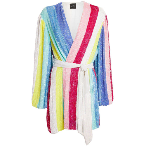 Gabrielle Robe Unicorn Stripe