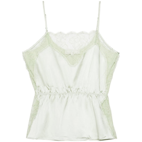 Rose Lace Cami Celadon