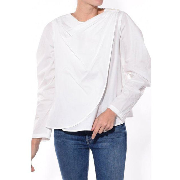 Clara Draped Blouse
