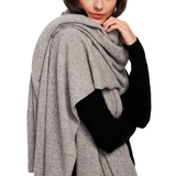 Travel Wrap Grey Heather