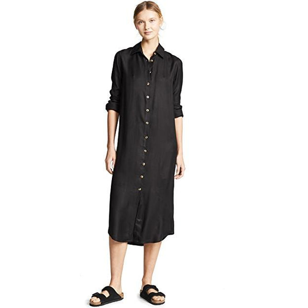 Avalon Button Up Maxi Dress