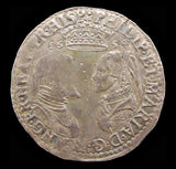 Philip & Mary 1554 Shilling - Full Titles - GVF