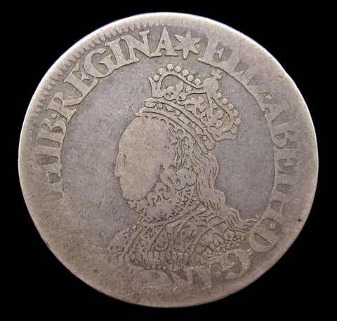 Elizabeth I 1561-1571 Milled Shilling - mm Star