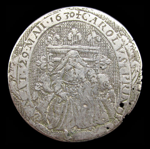 1630 Birth of Prince Charles Silver Counter - By De Passe