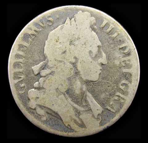 William III 1696 Crown - Poor