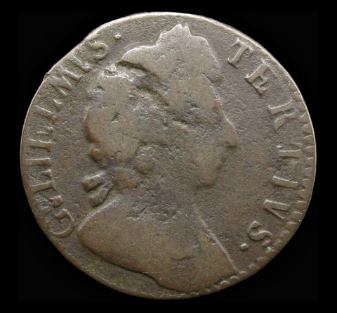 William III 1698 Farthing - VG