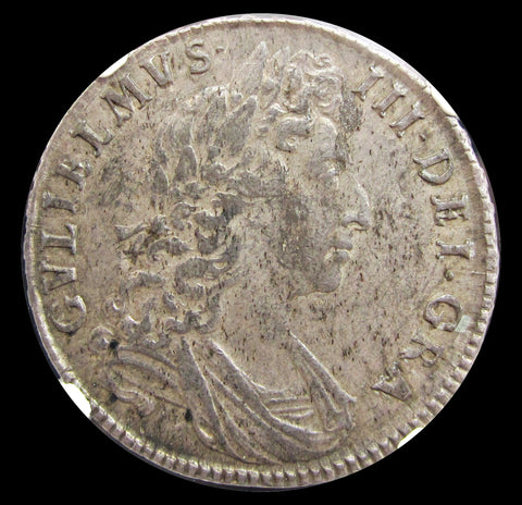William III 1698 Halfcrown - NGC MS61
