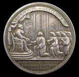 1704 Queen Anne's Bounty 44mm Silver Medal - By Croker