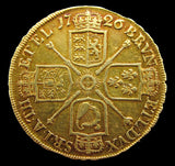 George I 1726 Five Guineas - Tertio Edge - VF