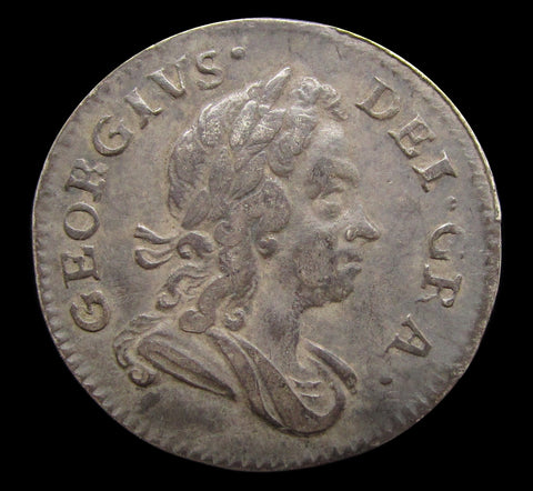 George I 1727 Maundy Threepence - VF